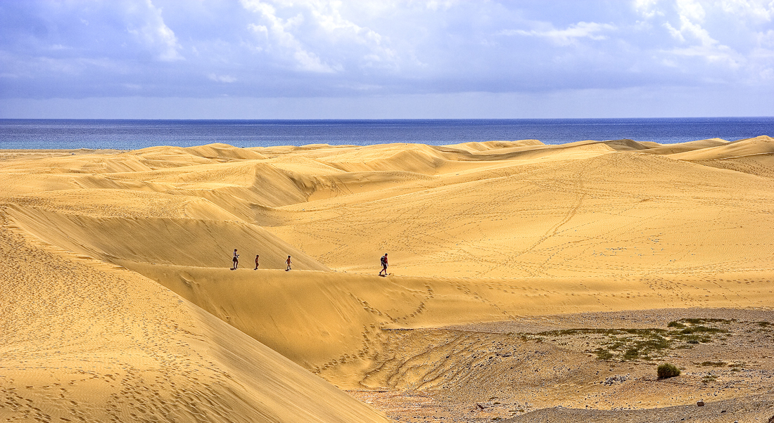 Maspalomas dűnéin - On the dunes of Maspalomas